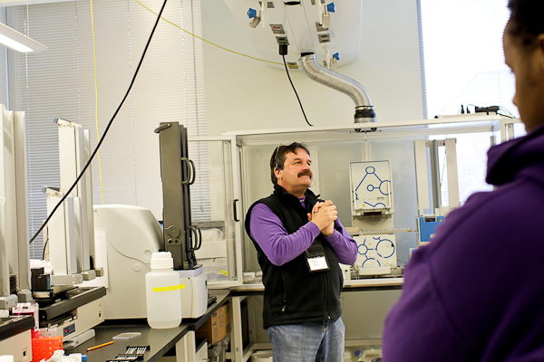 Tim Martins, Co-Director of the Quellos High Throughput Screening Core