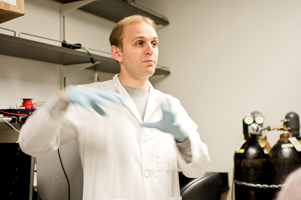 Researcher Jay Gantz, UW Bioengineering