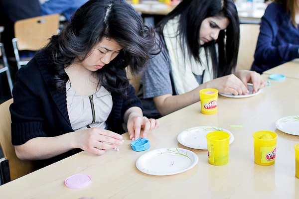 modeling embryonic development with play-dough