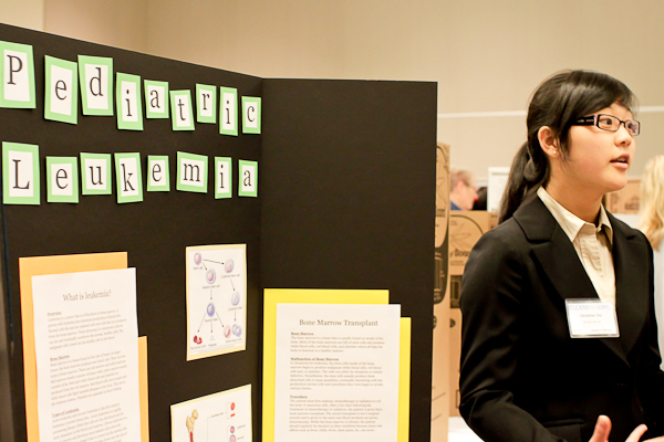 Woodinville High School Rocks NWABR Student Bio Expo